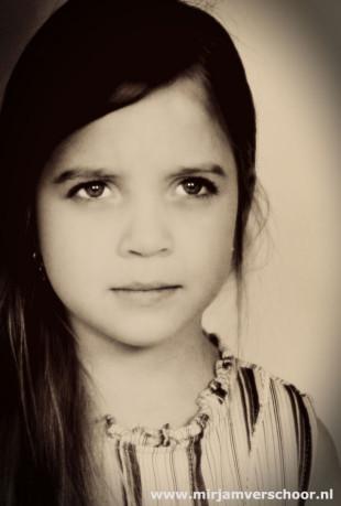 Kids portret Fotografie © Mirjam Verschoor