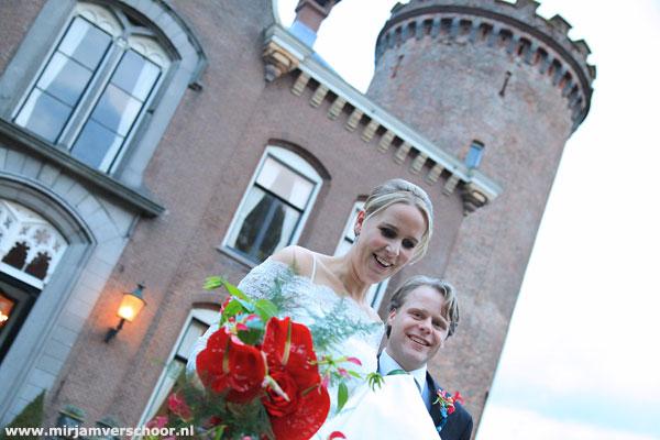 ©Mirjam Verschoor trouereportage kasteel Sterkenburg